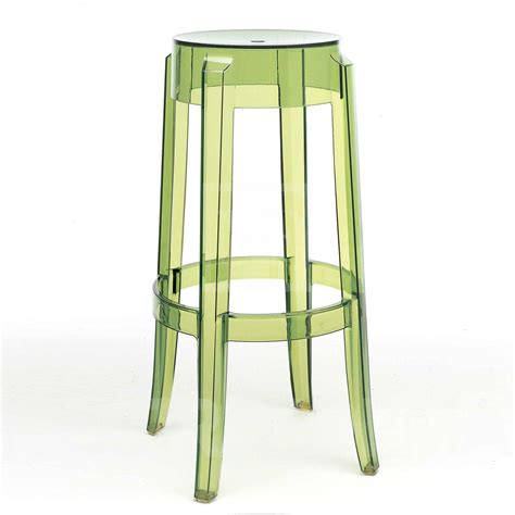 sgabello kartell ghost coppia di sgabelli charles ghost kartell design by