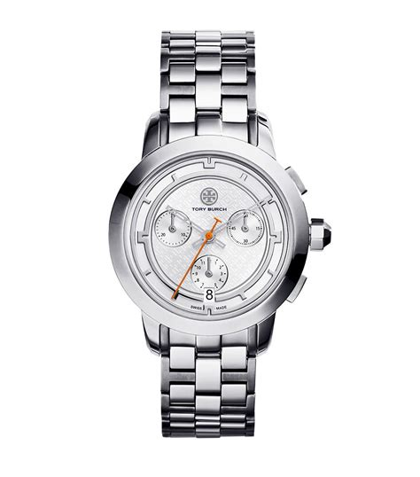 Burch Watches 1 burch stainless steel silver chronograph
