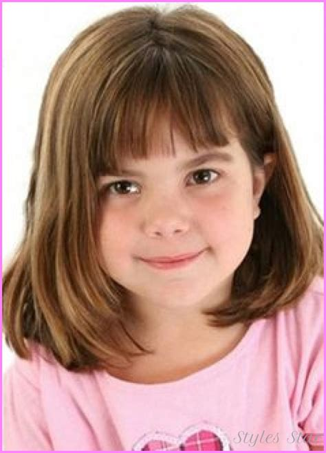 girl hairstyles with bangs little girl haircuts with bangs stylesstar com