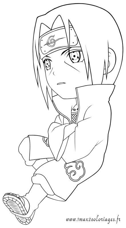 Coloriages du Manga et dessin animé Naruto