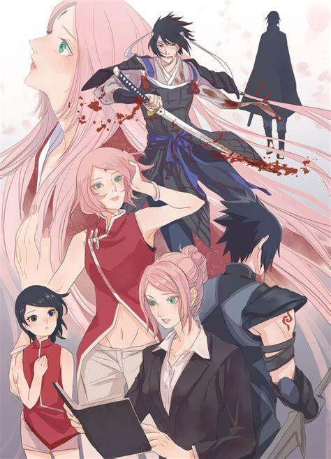 imagenes anime fanart tags fanart naruto haruno sakura uchiha sasuke pixiv