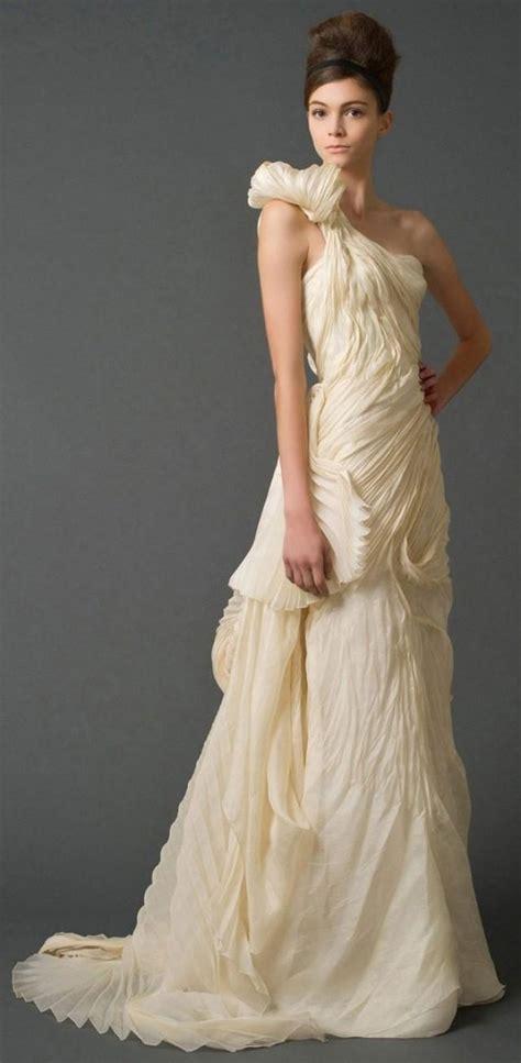 diy hairstyles for one shoulder dresses one shoulder strap wedding dress inspiration 2046823