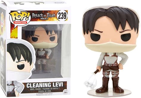 Clean Pop Limited funko pop cleaning levi limited edition l attaque des