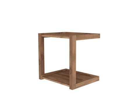 side sofa tables teak frame sofa side table 48x40x48 cm ethnicraft