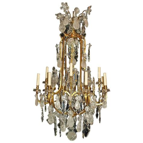 antique rock chandelier antique chandelier rock chandelier by baccarat