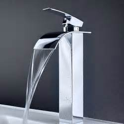 low led single handle bathroom lavatory vessel faucet