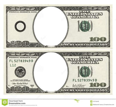 money template doc 1370570 money note template realistic five dollar