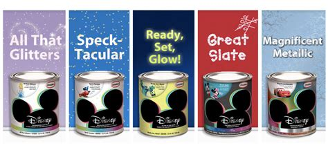 glow in the glitter wall paint how to create a modern office design with disney paint