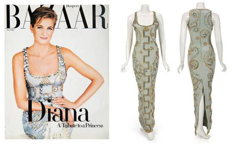 lade di sale princess diana s s bazaar versace frock goes on