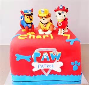 torta paw patrol 10 ricette pasta da zucchero dei cuccioli paw patrol