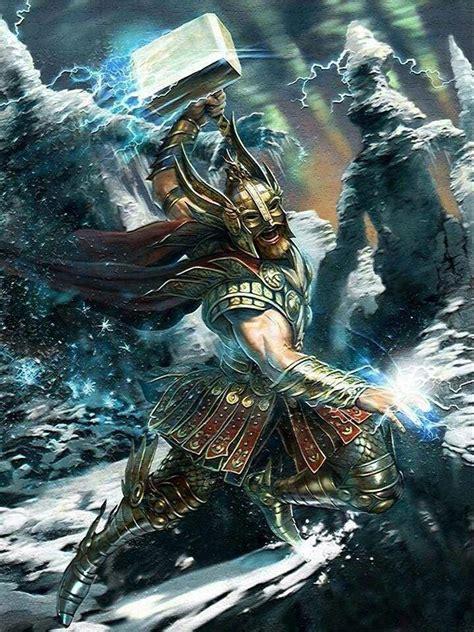 ancient god thor thor god of thunder pagans witches amino