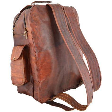 Backpack Handmade - plh6 ruther lesack leather backpack handmade 16 quot