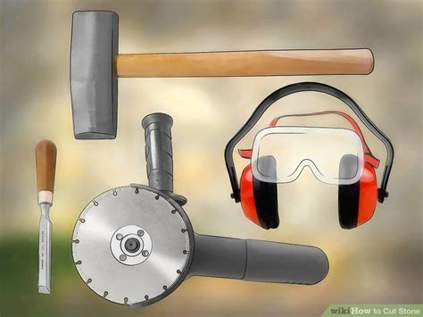 how to cut granite for how to cut stone with pictures wikihow