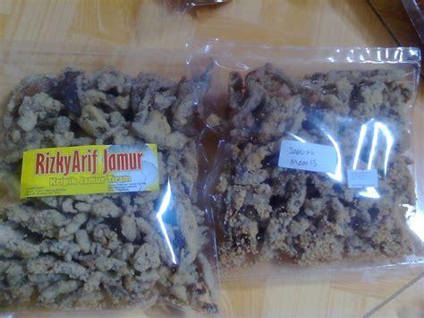 jamur tiram varian  rasa kripik jamur rizky arif jamur