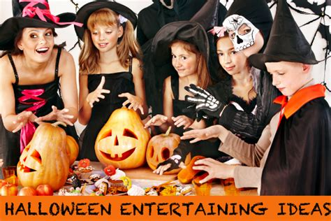 Halloween Party Entertainment Ideas - halloween entertaining ideas party decorations food and more