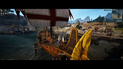 black desert online fishing boat accessories black desert online finally finished the epheria sailboat
