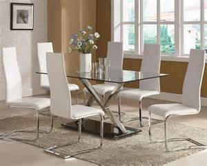 Glass Dining Room Tables And Chairs by Tips To Choose Dining Tables And Chairs