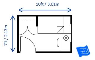 Minimum Dimensions For A Bedroom by Tiny Bedroom Dimensions Www Pixshark Images