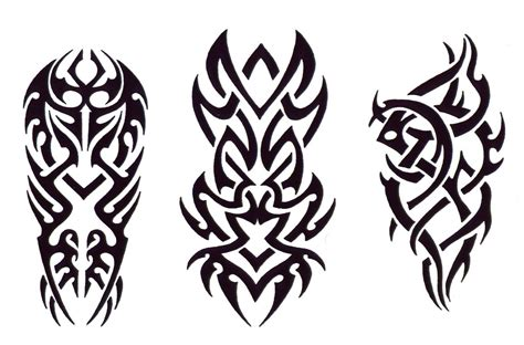 tattoo tribal designs free black and white tribal tattoo designs clipart best