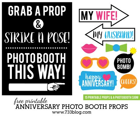 printable army photo booth props printable anniversary photo booth props inspiration made