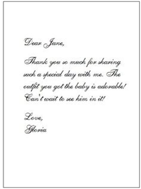 generic baby shower thank you wording baby shower gift card thank you wording baby shower