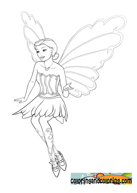 barbie butterfly coloring pages free k butterfly coloring pages