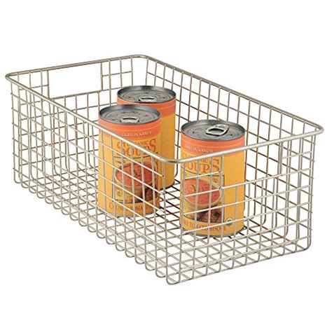 Wire Pantry Baskets by Interdesign Classico Kitchen Pantry Freezer Wire Basket