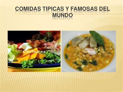 la comida de la 8492981822 comidas tipicas del mundo