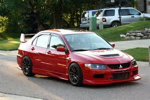 2003 Mitsubishi Evolution Mitsubishi Lancer Evolution Tech Voltex Aero Installation