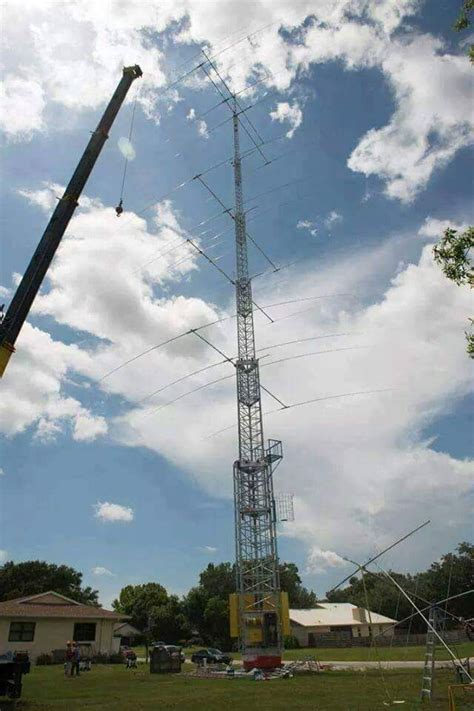 found this on definitely a cool tower and install hamheaven ham radio