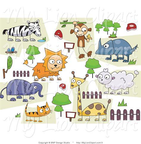 design zoo graphics 31 animals around the world clipart