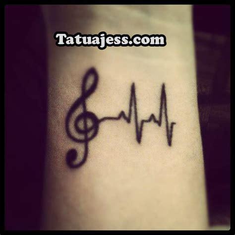 imagenes tatuajes musicales tatuajes de notas musicales 187 ideas y fotograf 237 as