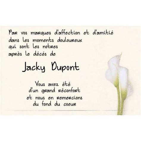 Lettre De Remerciement Obsèques Remerciement De D 233 C 232 S Le N 176 1 Des Faire Part Et Remerciement De Deuil