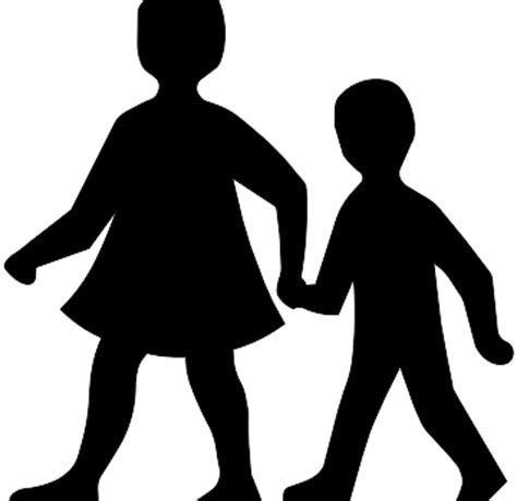 free clipart silhouette child silhouette clip cliparts co