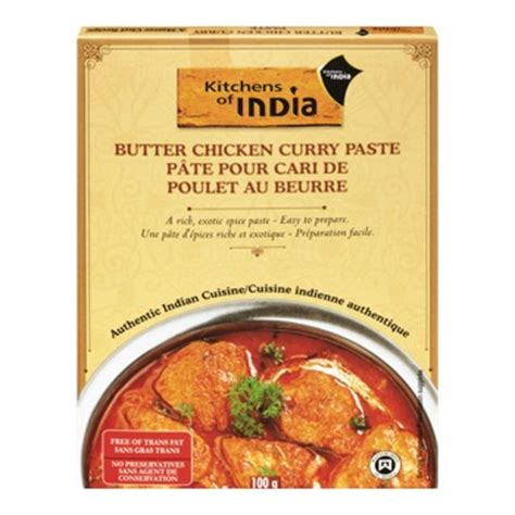 Kitchens Of India Butter Chicken by Butter Chicken Curry Paste