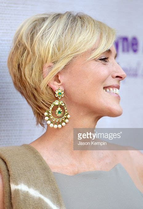 sharon stone hairband short haircut http www gettyimages com au detail news