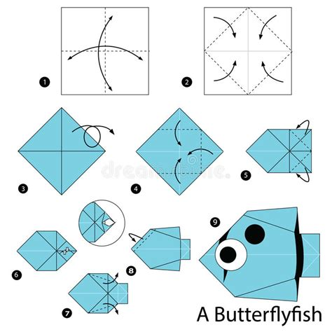 How To Make A Paper Toys Step By Step - step by step how to make origami a butterfly