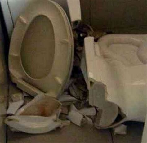 bathroom accidents man hospitalized in freak airport toilet accident view