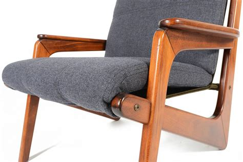 Pair Of German Modern Boomerang Lounge Chairs At 1stdibs German Modern Furniture