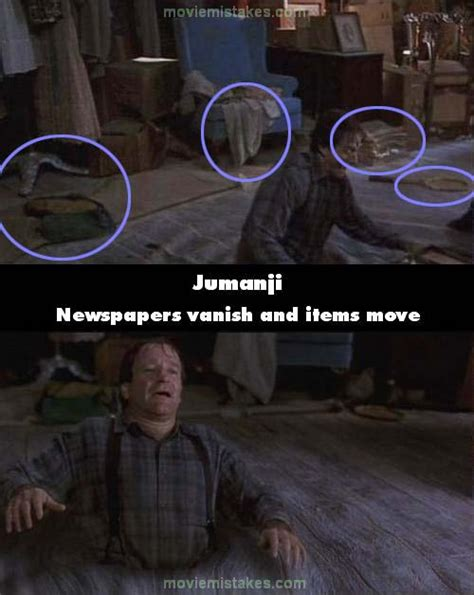 jumanji movie mistakes jumanji movie mistake picture 12