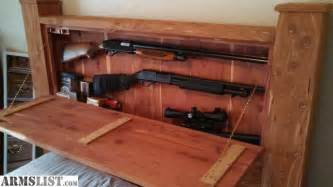 Platform Bed With Gun Storage Ideas To Mount A Pistol Safe In Bedroom Page 1