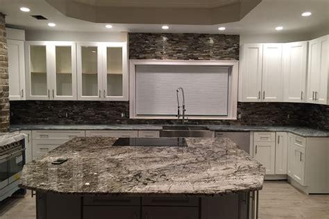 Granite Cap Countertops by White Tiger Granite Caps The Oversized Kitchen Island