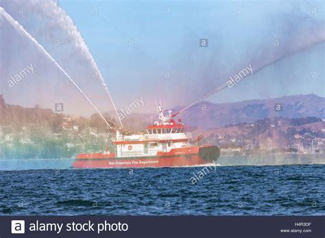fire boat spraying water san francisco fireboat 3 spraying water on san francisco