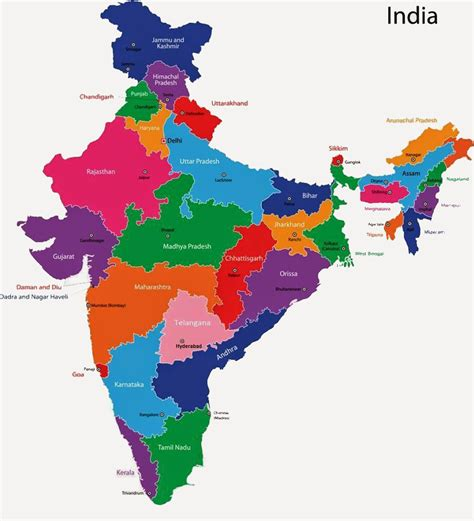 printable india map political political map of india montessori pinterest