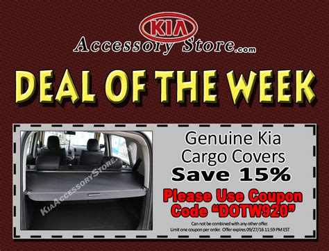 Deal Of The Week 20 At Max And by Kiaaccessorystore S Deal Of The Week 09 20 16 09 27 16