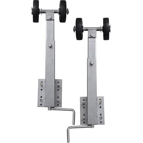boat trailer double rollers boat trailer double roller bow support set of 2 2 3
