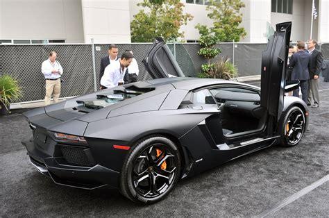 Lamborghini Matt Karznshit 11 Lamborghini Aventador Matte Black