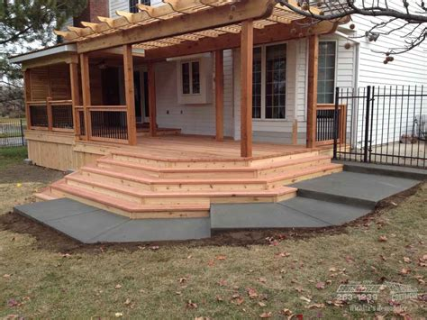 The Deck At by Deck Remodeling Southwestern Remodeling Wichita Ks