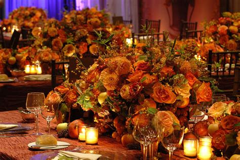 fall table decorations for wedding receptions falling for these fall centerpieces b lovely events