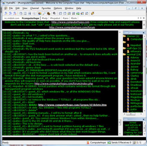 what is the meaning of chat room what is irc relay chat